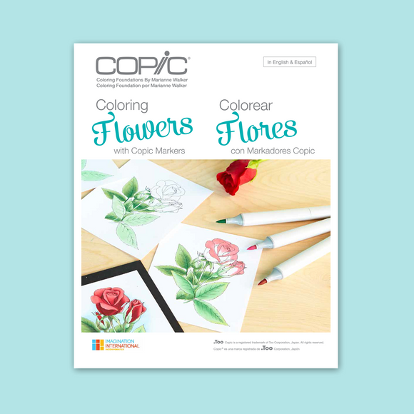 Copic Colouring Foundations - Colouring Flowers