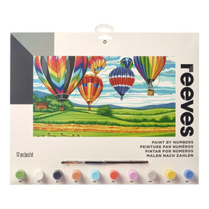 Reeves - Painting By Numbers - Hot Air Balloons - Large