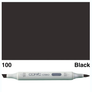Copic Ciao - 100 Black
