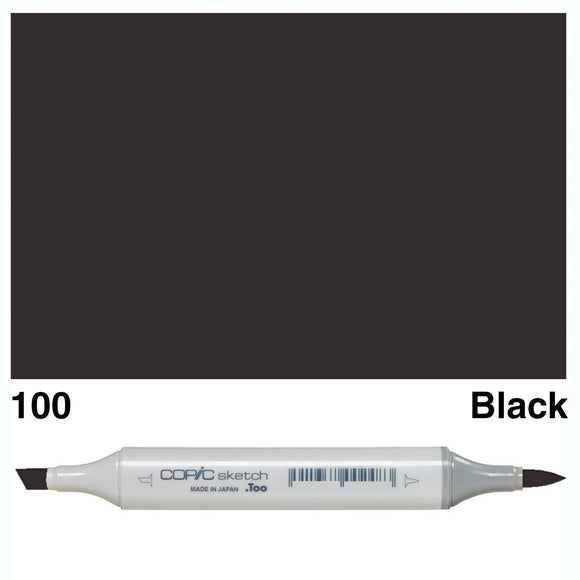 Copic Sketch 100-Black