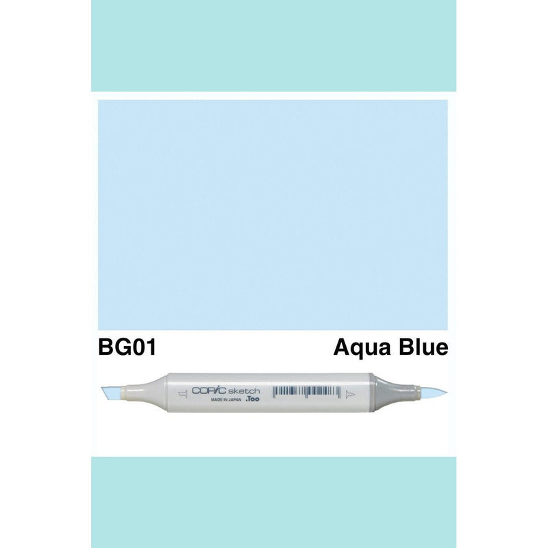 Copic Markers SKETCH  - Aqua Blue BG01