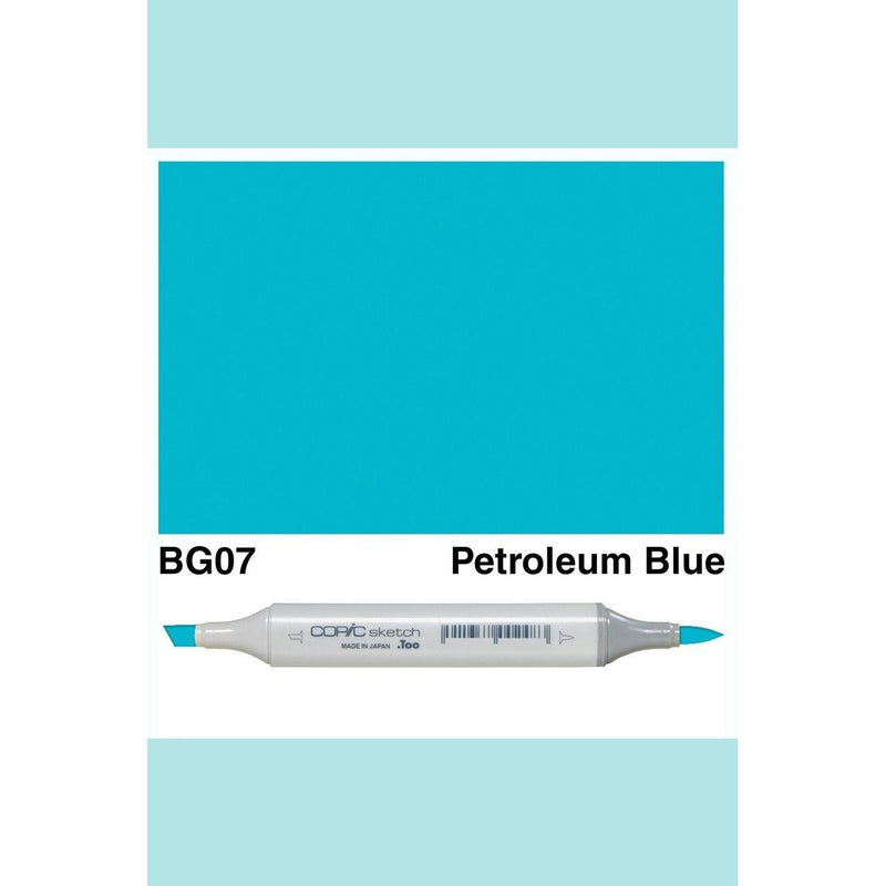 Copic Markers SKETCH  - Petroleum  Blue BG07
