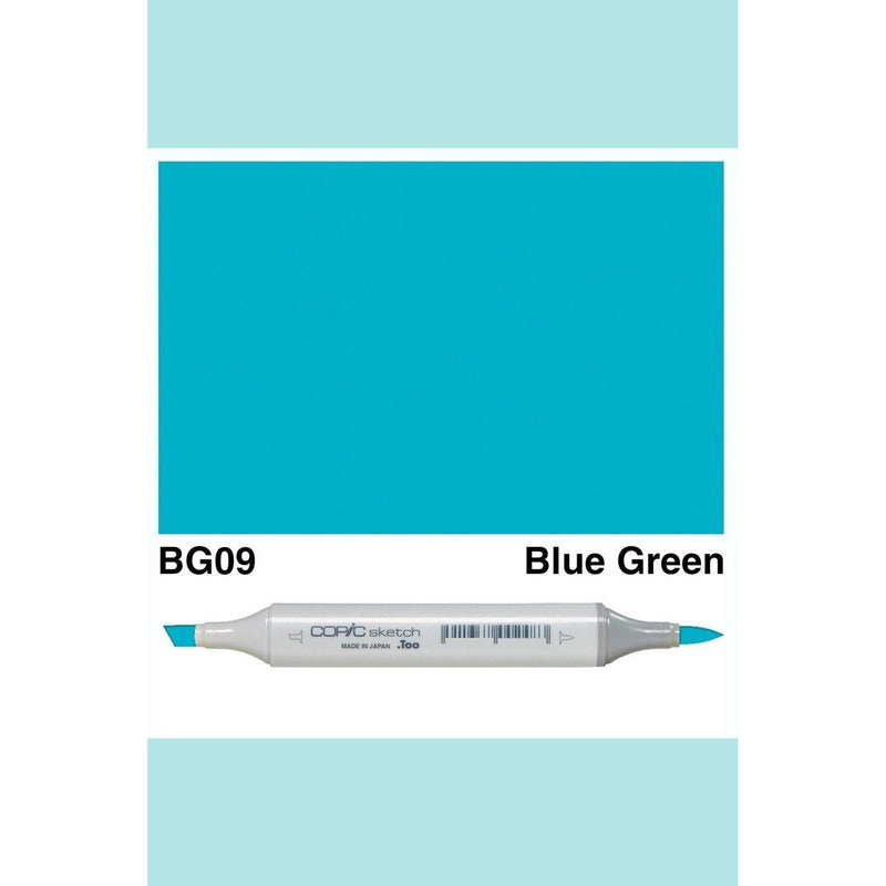 Copic Markers SKETCH  - Blue Green BG09