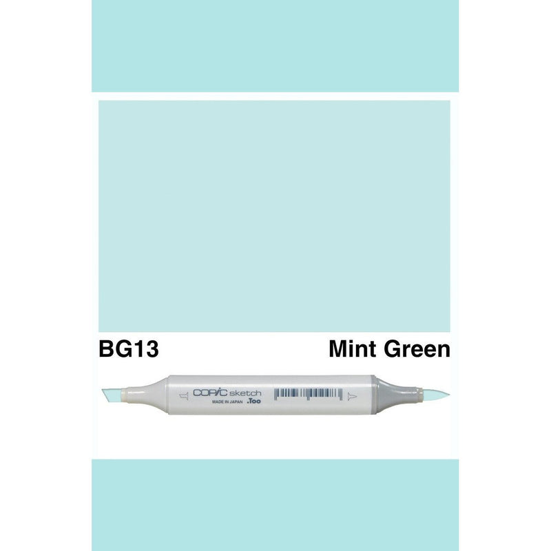 Copic Markers SKETCH  - Mint Green BG13