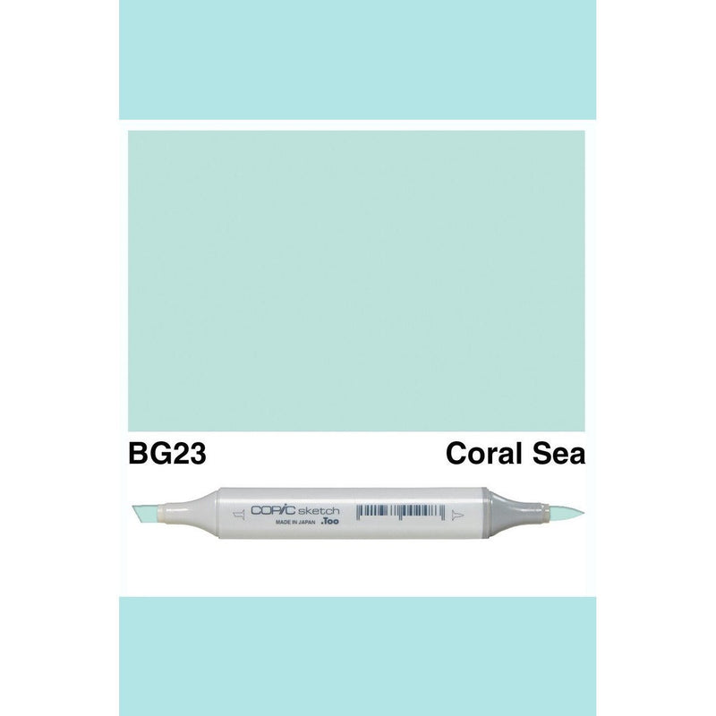 Copic Markers SKETCH  - Coral Sea BG23