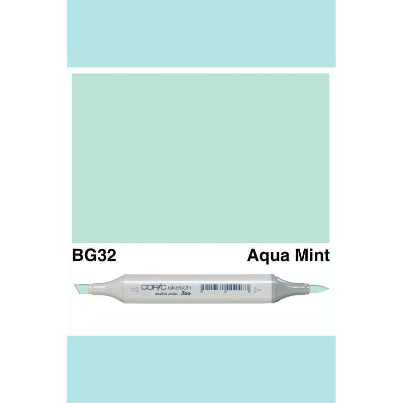 Copic Markers SKETCH  - Aqua Mint BG32