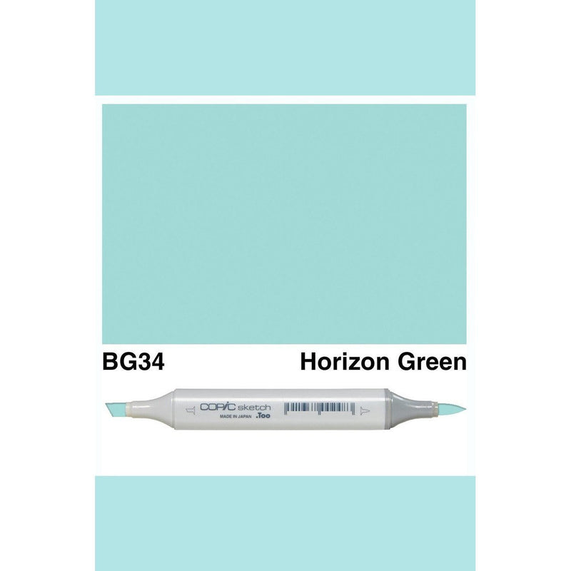 Copic Markers SKETCH  - Horizon Green BG34