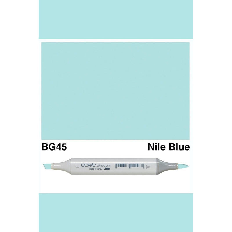 Copic Markers SKETCH  - Nile Blue BG45