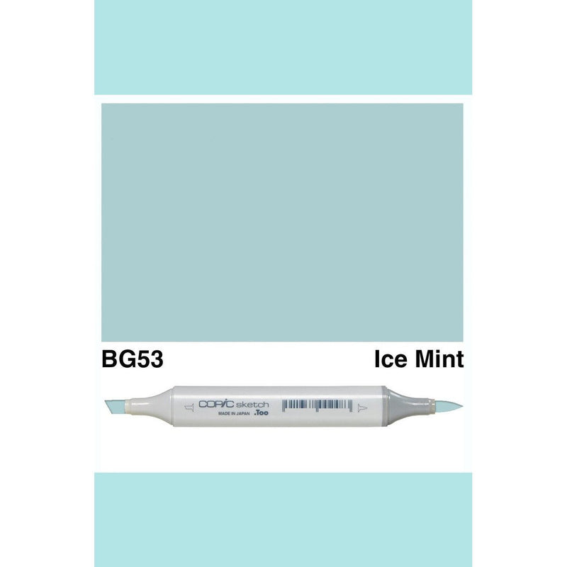 Copic Markers SKETCH  - Ice Mint BG53