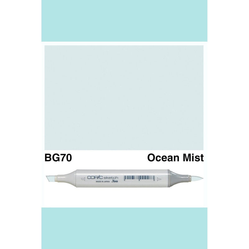 Copic Markers SKETCH  - Ocean Mist BG70