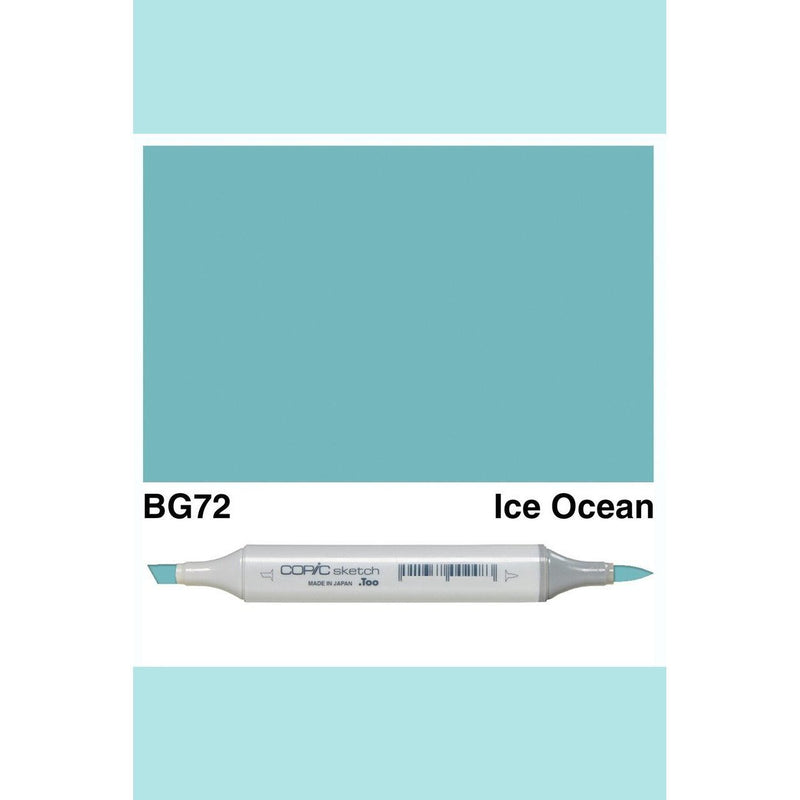 Copic Markers SKETCH  - Ice Ocean BG72