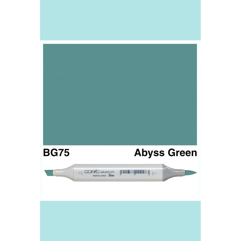 Copic Markers SKETCH  - Abyss Green BG75