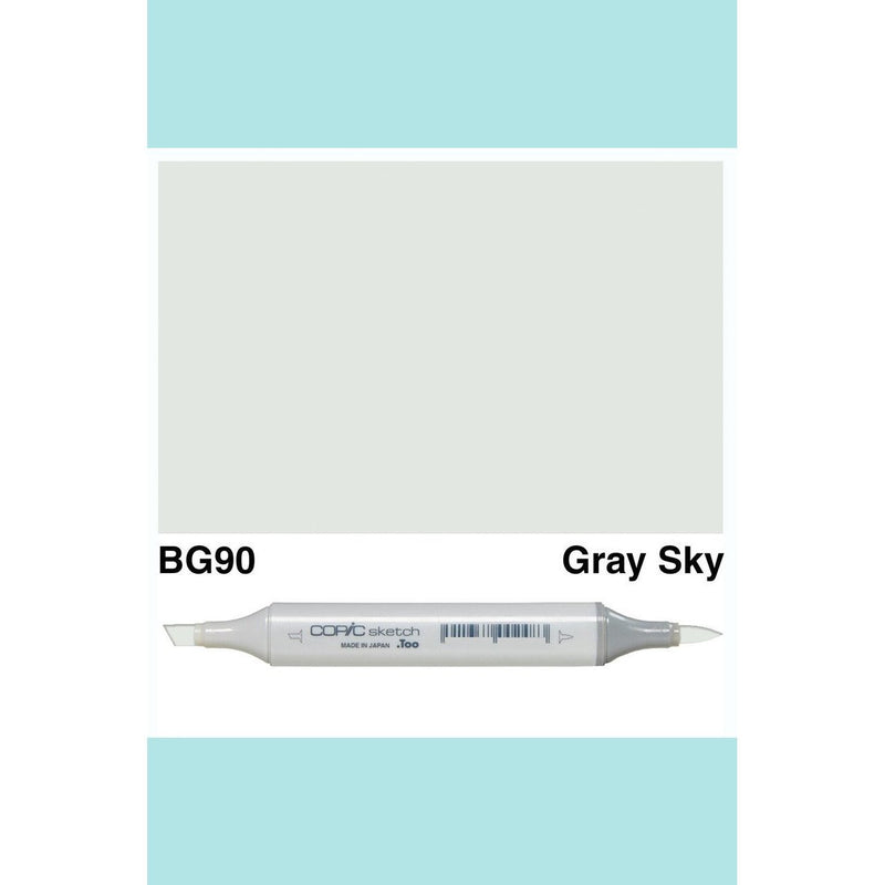 Copic Markers SKETCH  - Gray Sky BG90