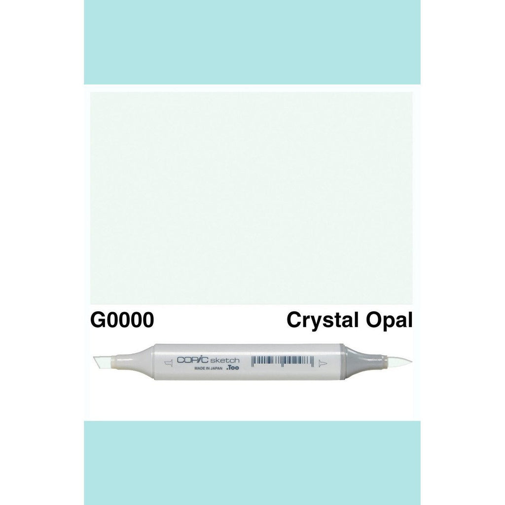 Copic Markers SKETCH  - Crystal Opal G0000