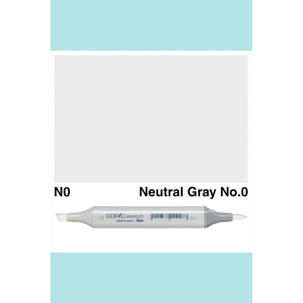 Copic Markers SKETCH  - Neutral Gray No.0