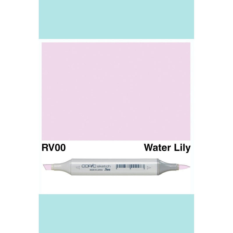 Copic Markers SKETCH  - Water Lily RV00