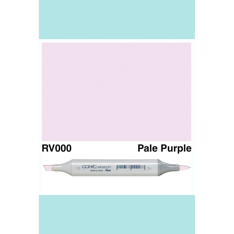 Copic Markers SKETCH  - Pale Purple RV000