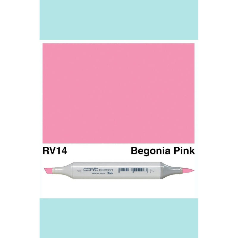 Copic Markers SKETCH  - Begonia Pink RV14
