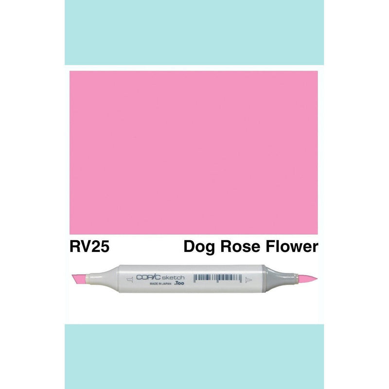 Copic Markers SKETCH  - Dog Rose Flower RV25