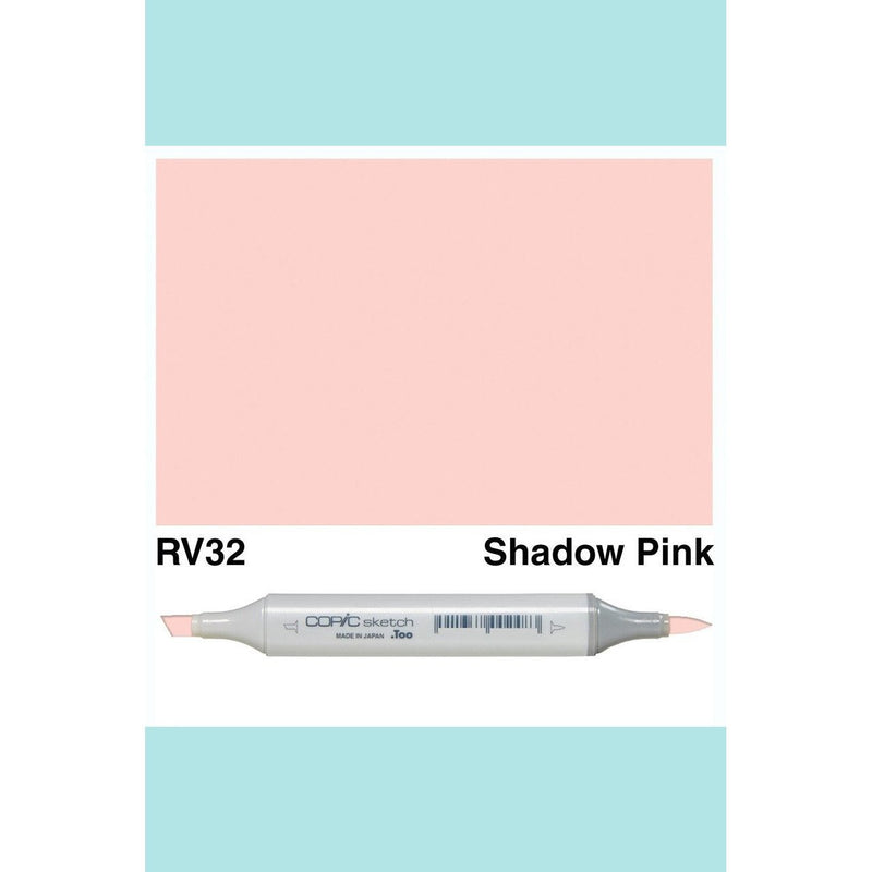 Copic Markers SKETCH  - Shadow Pink RV32