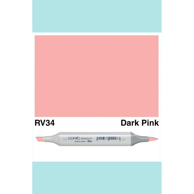Copic Markers SKETCH  - Dark Pink RV34