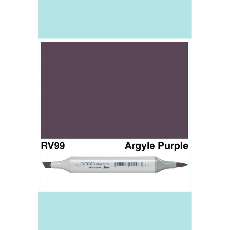 Copic Markers SKETCH  - Argyle Purple RV99