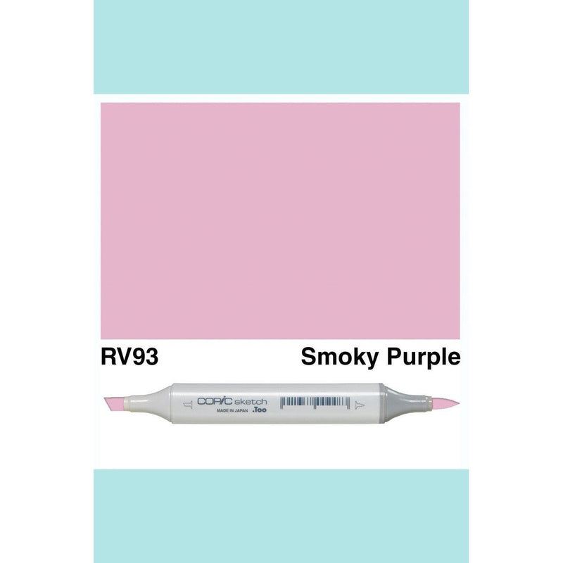 Copic Markers SKETCH  - Smokey Purple RV93