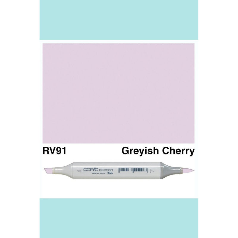 Copic Markers SKETCH  - Grayish Cherry RV91