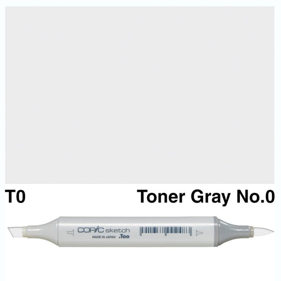 Copic Markers SKETCH  - Toner Gray No.0