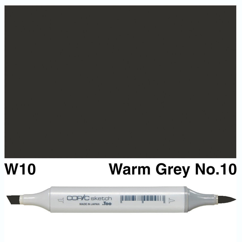 Copic Markers SKETCH - Warm Gray W10