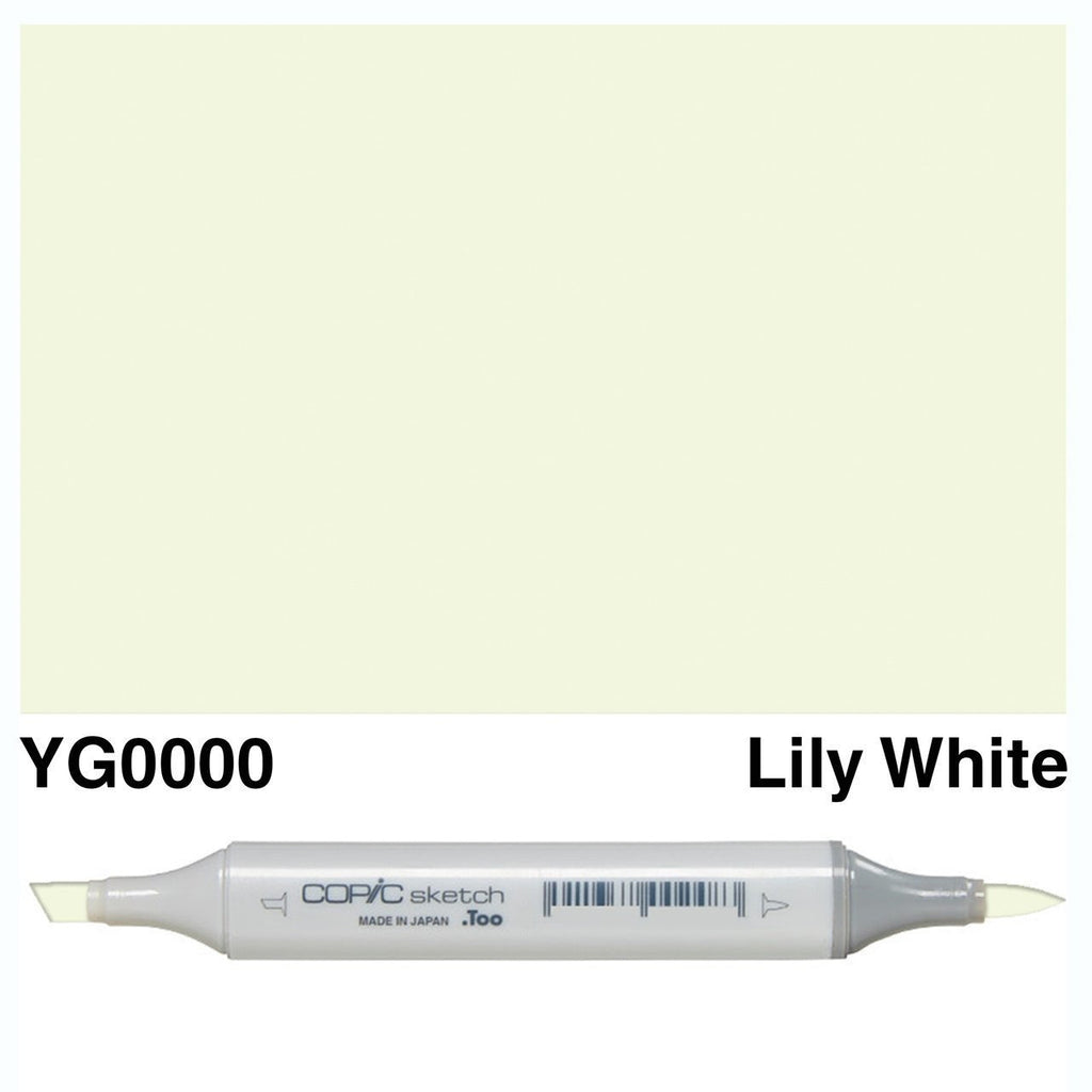 Copic Markers SKETCH  - Lily White YG0000