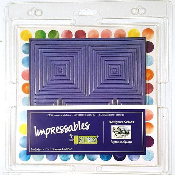 Gel Press Impressables 7