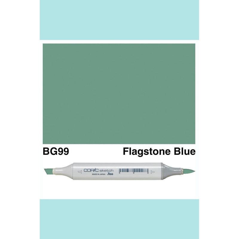 Copic Markers SKETCH  - Flagstone Blue BG99