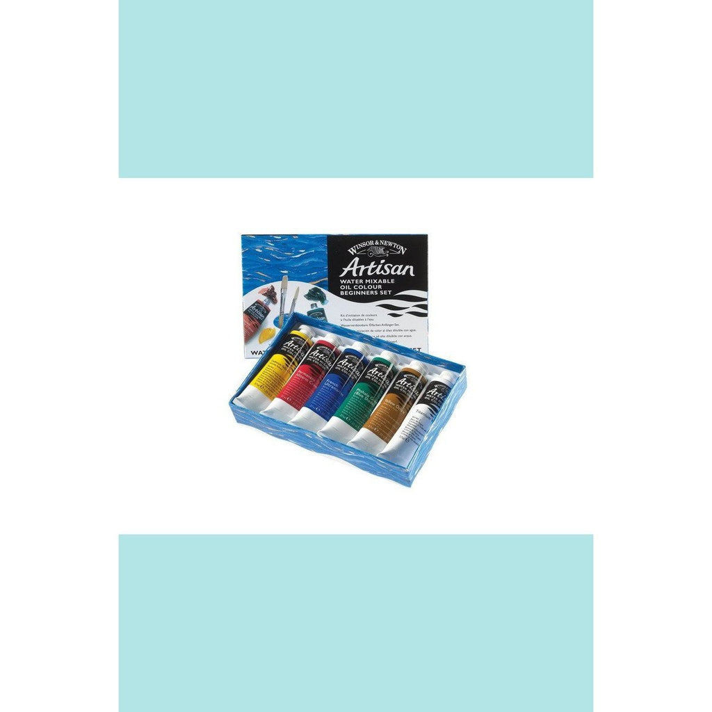 Winsor & Newton Artisan Water Mixable Oil Colour Sets Beginners Set