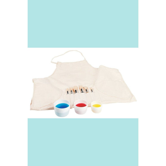 Jasart Junior Brush & Smock Set