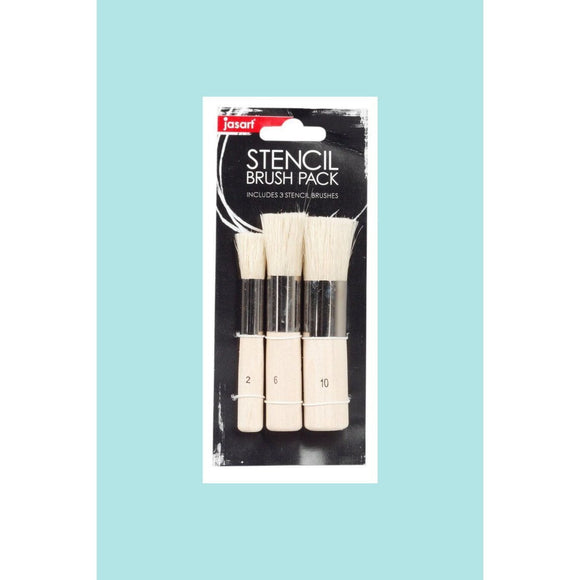 Jasart Stencil Brush Set