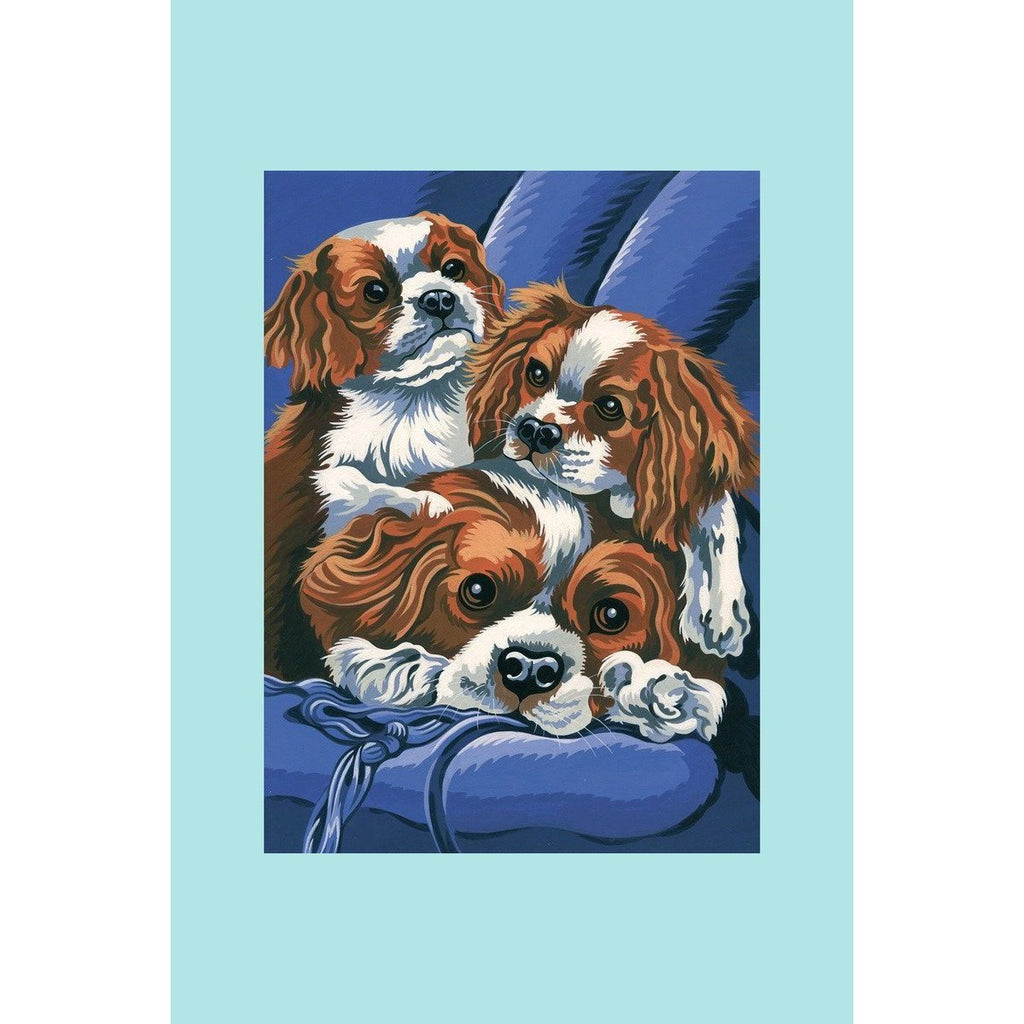 Reeves Painting By Numbers - Spaniels - Medium