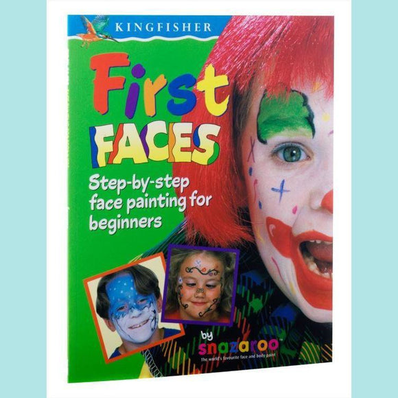 Snazaroo Face Painting Books - First Faces Book