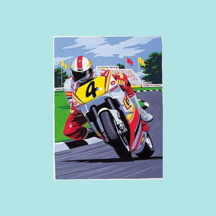 Reeves Painting By Numbers - Motorbike - Medium