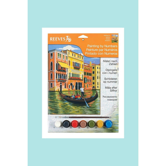Reeves Painting By Numbers - Venice - Medium