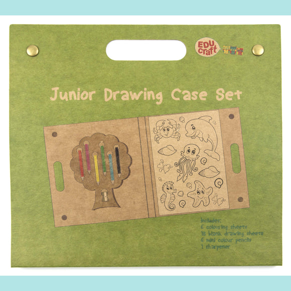 Educraft Drawing Sets - Take Me Away Drawing Case