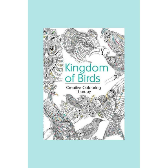 Creative Colouring Therapy - Kingdom of Birds