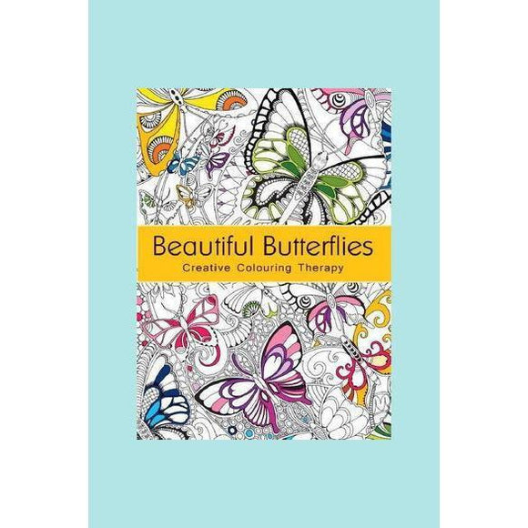 Creative Colouring Therapy - Beautiful Butterflies