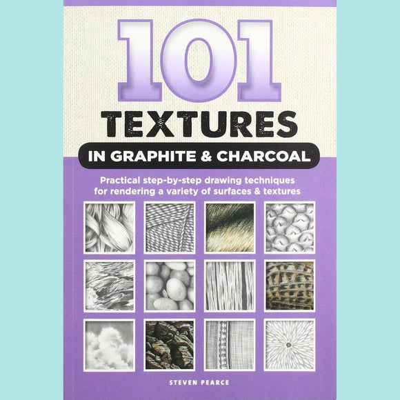 101 Textures in Graphite & Charcoal - Book
