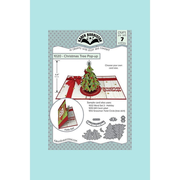 Karen Burniston - Christmas Tree Pop-Up Die Set