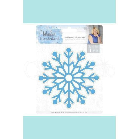 Crafters Companion Sara Signature Winter Wonderland Sparkling Snowflake