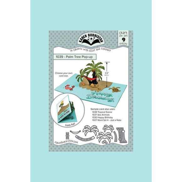 Karen Burniston - Palm Tree Pop-Up Die Set