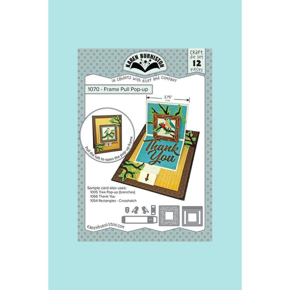 Karen Burniston - Frame Pull Pop-Up Die Set