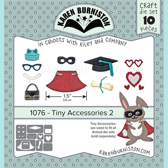 karen Burniston - Tiny Accessories 2 Die Set