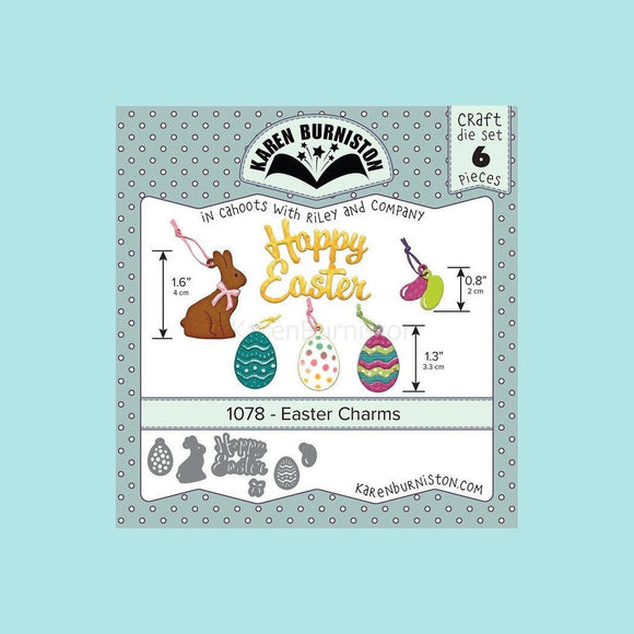 Karen Burniston - Easter Charms Die Set